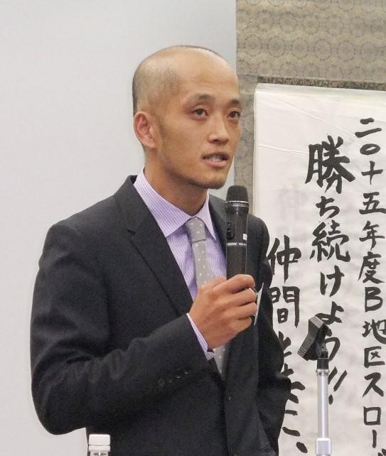 「成長する会社と組織運営の難しさ」~福山支部B地区会4月例会