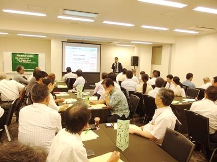 「始まりは経営指針づくりから ~同友会で学んで見えてきた課題と中期ビジョン~」 広島中支部8月例会