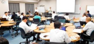 登録率50%をめざして 中・安佐合同 企業変革支援プログラムStep① 実践型勉強会を開催
