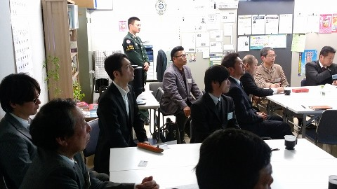 「任務育成に資する隊員の育成」福山支部E地区会