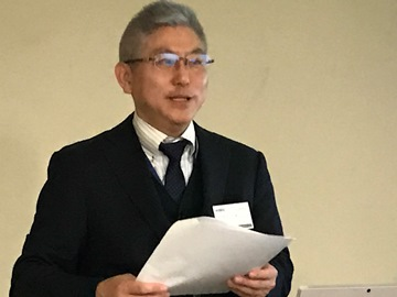 「我が社の経営指針発表!」福山支部G地区会