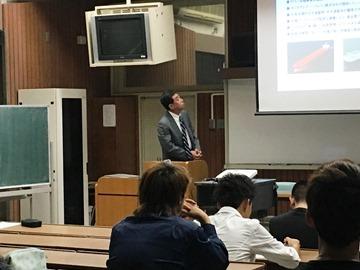 広高校定時制で講演「中小企業で働くことの意味」呉支部求人委員会