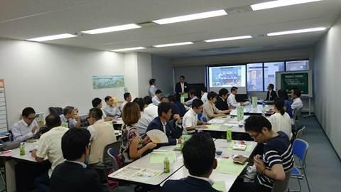 「職人気質の仕事から組織的生産体制への企業づくり」広島東支部南②地区会
