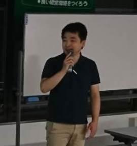 初めての経営計画発表会! 福山支部S地区会