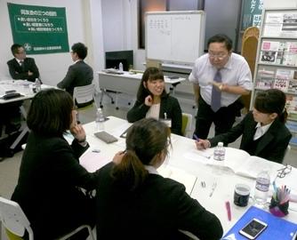 キャリアアップ形成研修(中堅社員研修)を開催 モチベーションを上げ、共に次のリーダーへ! 呉支部社員教育委員会