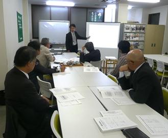 情勢の勉強会 恒例の日銀勉強会 呉支部経営労働委員会