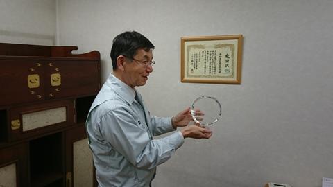 農業的経営で200年企業に~平和建設企業訪問~ 福山支部地球環境委員会