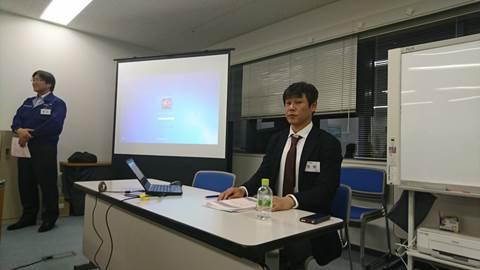 経営体験報告「二代目から見た事業継承」広島中支部中③④地区会