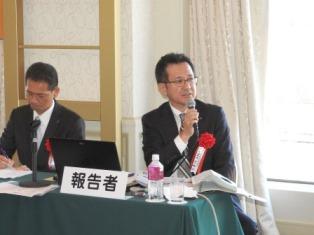 笠井氏(右)と近藤氏(左)