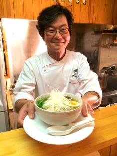 <ちょっとした話>イタリアンのシェフが作るラーメン Italian Bar SALE e PEPE   佐々木 隆二 氏(東広島支部)