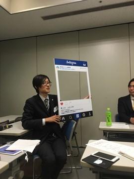 「インスタグラムのビジネス活用法~実際に登録して実践してみよう!~」広島東支部広報委員会