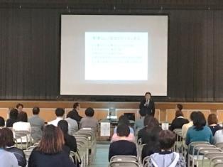 呉工業高等学校のPTA総会で中小企業を語る