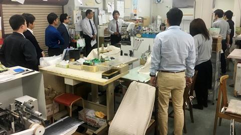 「会員企業訪問例会」広島西支部青年部