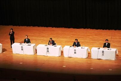 呉市長選挙立候補予定者に政策を聞く会「呉市の未来を託すのは誰だ」