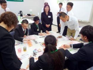 福山支部 新入社員研修一日コース  先輩社員に聞く「働くことってどんなこと?」