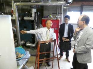 福島同友会の会員に環境経営を学ぶ企業訪問 (県環境経営委員会)