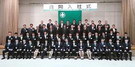 呉&東広島支部求人社員教育委員会 合同入社式&新入社員研修