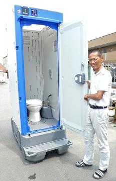 ちょっとした話➀ 快適トイレで安心の提供