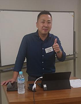 「三位一体で会社が変わる!新社長の意気込み」福山支部J地区会7月例会
