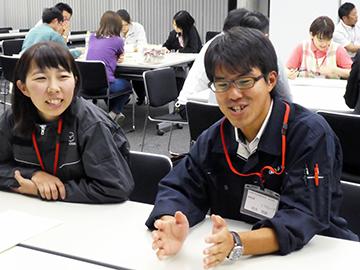 「働くとは…折り鶴から学ぶチームワーク」福山支部求人社員教育委員会