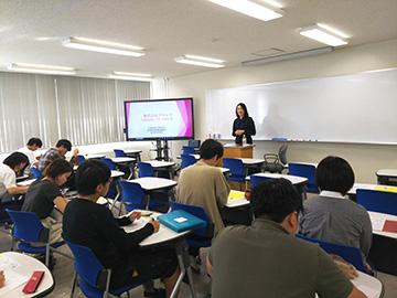 ちょっとした話➁起業家精神を学んでもらおう ~広島修道大学へ講師派遣