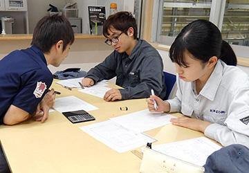 広島エリア支部求人社員教育委員会 広商インターンシップ 今年で16年目  支援委員会と夏のインターンシップを開催 ~会員企業46社で生徒79名を受け入れ~