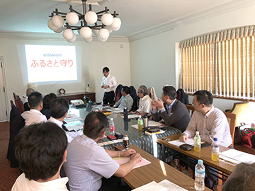 中国ブロック代表者会議を福山市で開催 中同協5万名達成に向け、各県目標必達を確認!
