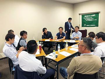 「企業が抱える使用者責任」福山支部F地区会10月例会