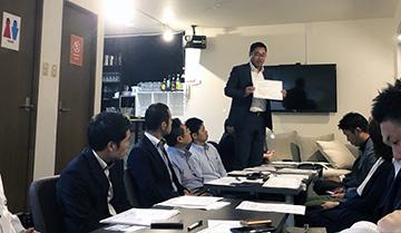 「オープン例会座談会」広島西支部青年部会10月例会