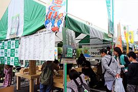「佐伯区民まつりに初出展」 広島西支部地域内連携推進委員会