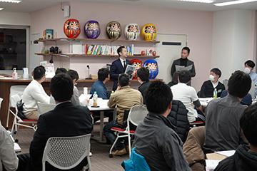 「No.2理論と実践」尾道支部青年部会2月例会