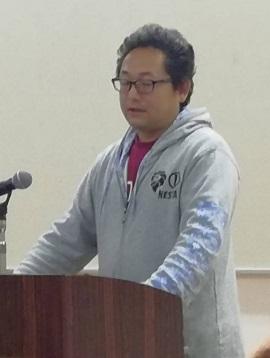 「早い・安い・なるべくうまい!汁なし担々麺の『くにまつ』 ~」 広島中支部中34地区会2月例会