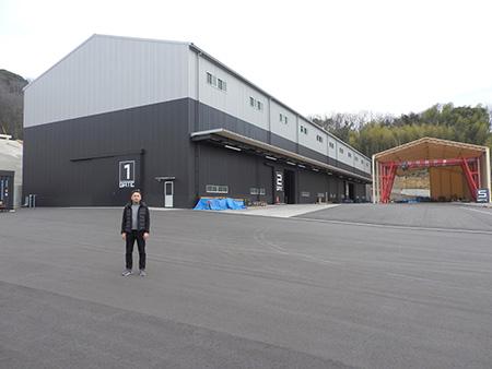 ちょっとした話(1)「新工場完成『この工場にできないことはない!』」 ㈱クニヨシ  早間雄大 氏(福山支部)