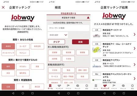共同求人活動Jobway2021の動き