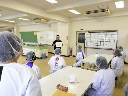 ちょっとした話~沼隈特別支援学校で、お魚料理教室を実施しました