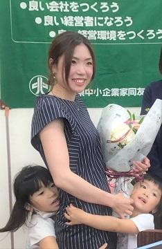 佐伯地区会七月例会「嫁 vs コロナ」 用品名酒センター㈱(広島西支部)