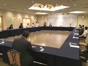 Jobway2021 呉支部 緊急開催!高校の先生方と経営者との懇談会