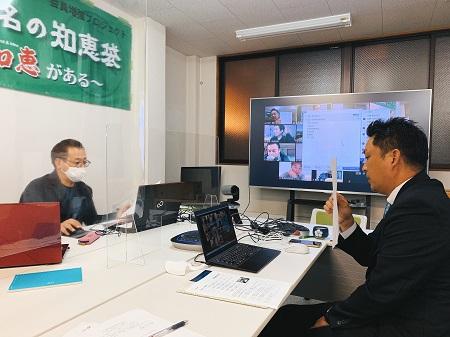 「まずは、自社を知る事から」呉支部芸南地区会11月例会