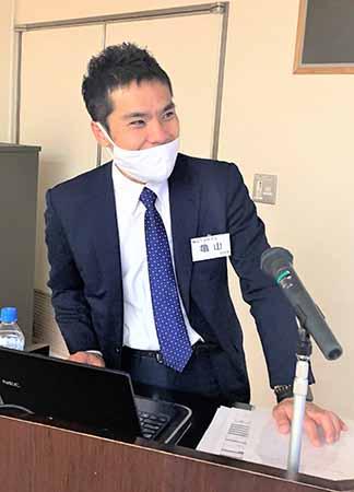 「創業から1年、これからの夢・ビジョンに向かって」広島西支部廿日市地区会11月例会