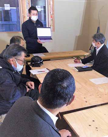 企業訪問例会「公私連携型保育所を運営する意義について」広島西支部廿日市地区会12月例会